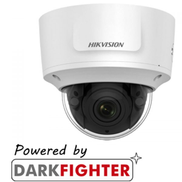 Hikvision Darkfighter 2MP Motorized varifocal Len Dome Camera