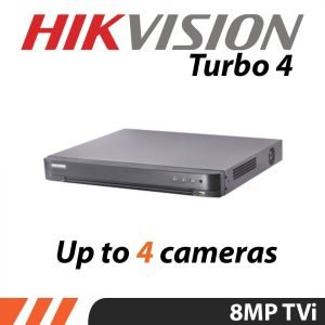8MP 4K Hitvision CCTV kit