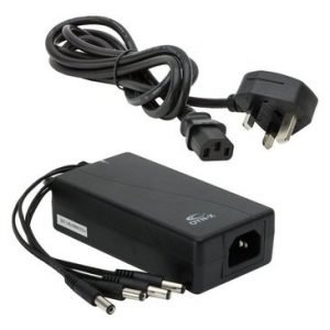 12Volt 5Amp 4 way CCTV power supply
