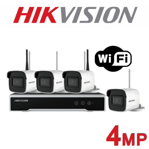 Hikvision wireless CCTV kit