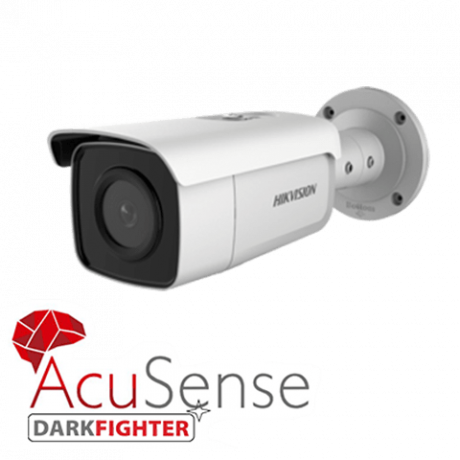 Hikvision 8MP IP bullet camera with acusense