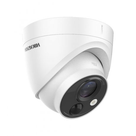 DS-2CE71D8T-PIRLO Hikvision camera with PIR and light