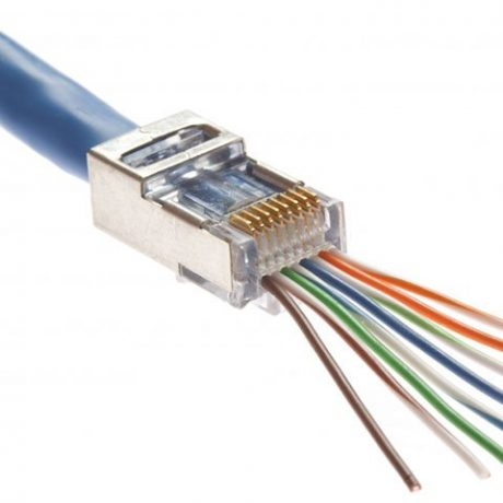 screened cat6 connector